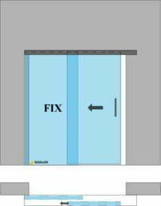 drzwi przesuwne s1fo
