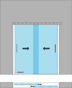 drzwi przesuwne 2skh