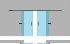 drzwi przesuwne 2skolv