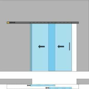 drzwi przesuwne 2skov